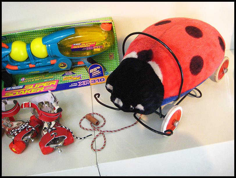 toy ladybird