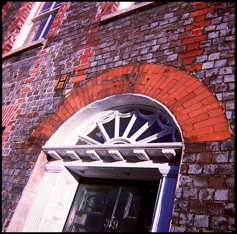 doorway in spitalfields