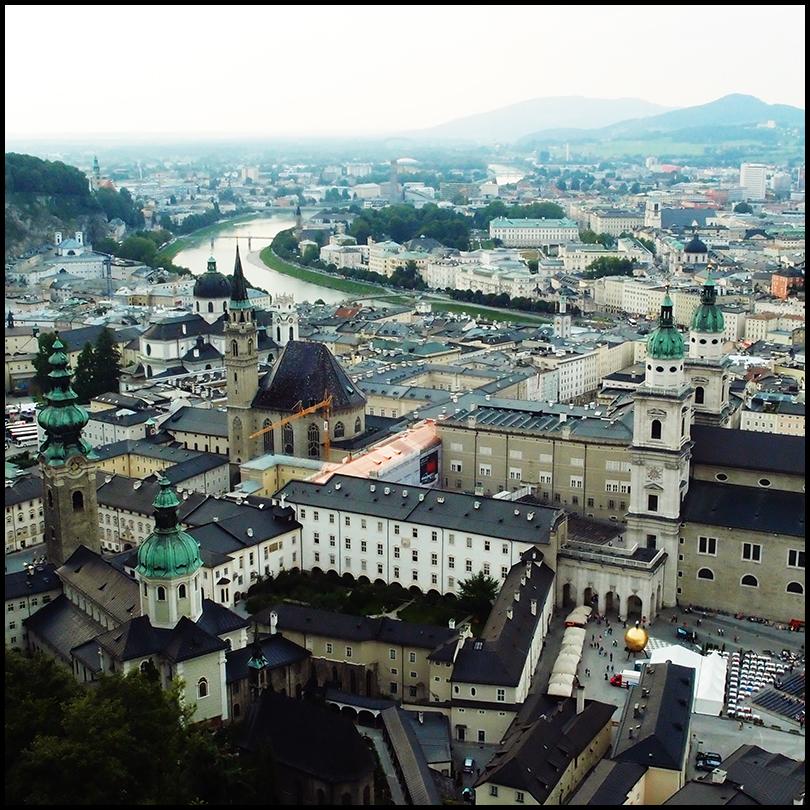 salzburg aerial view