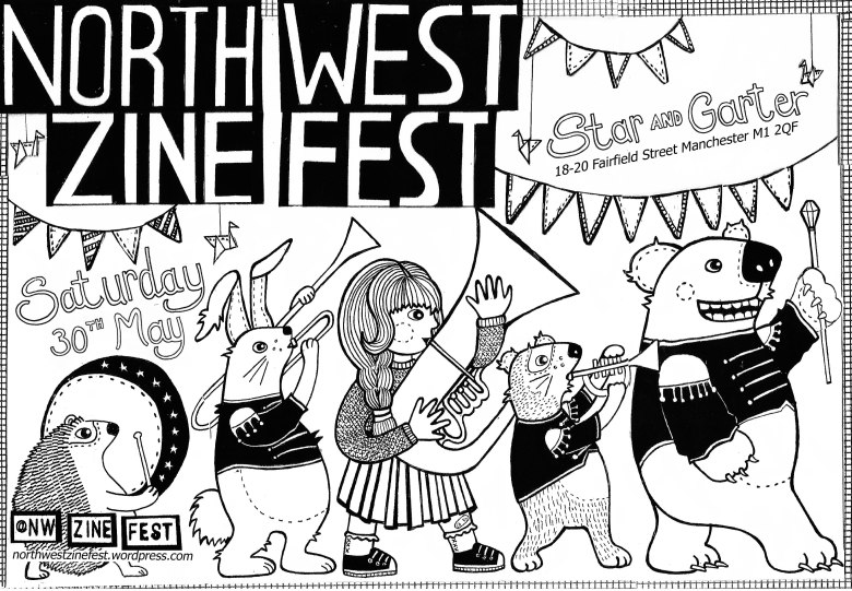 northwest zinefest flyer