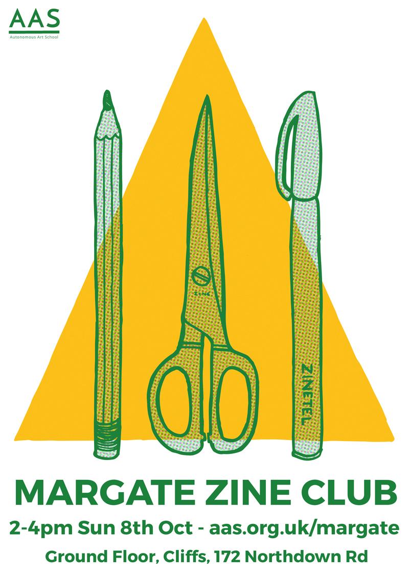 zine club poster