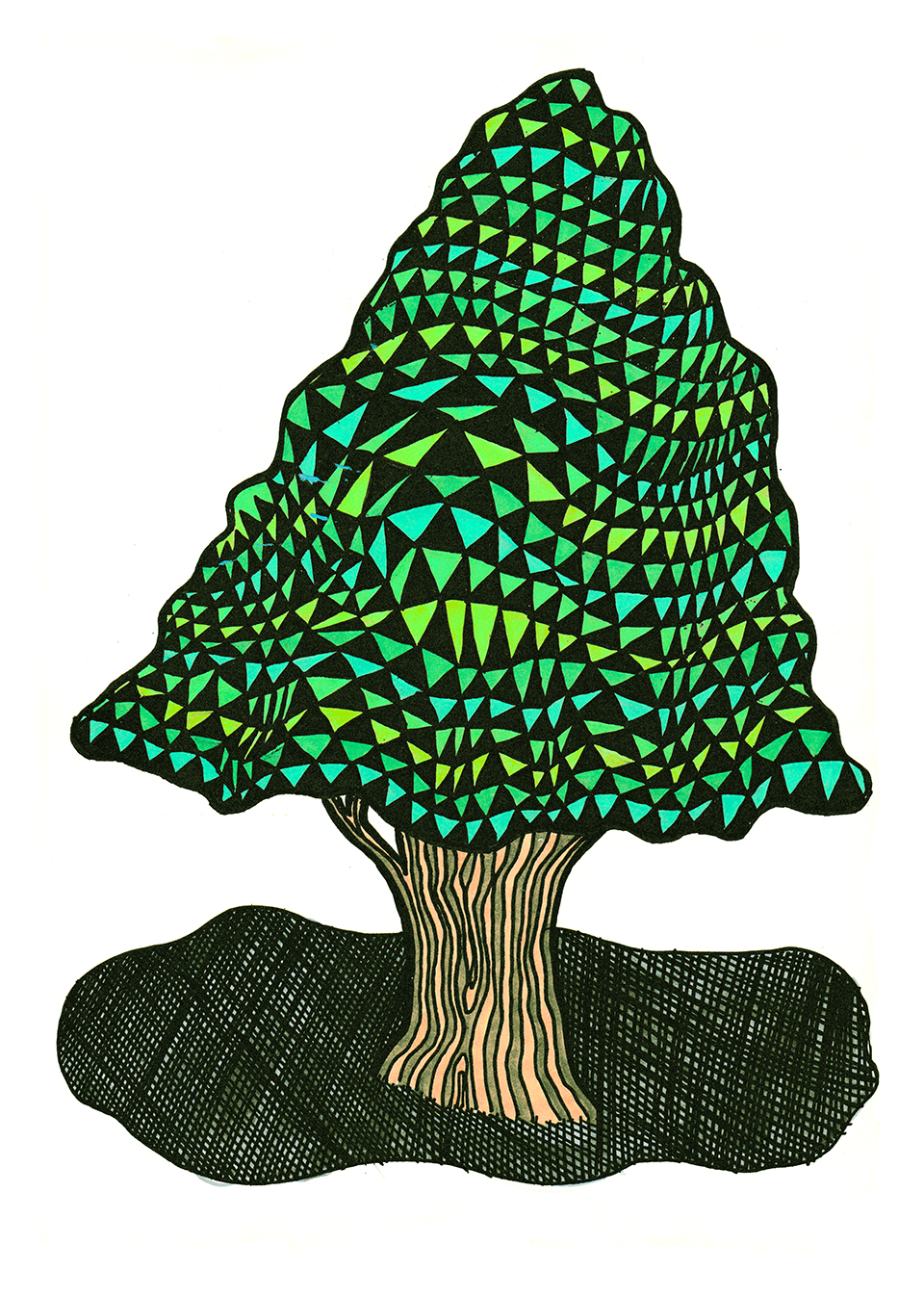 topiary drawing