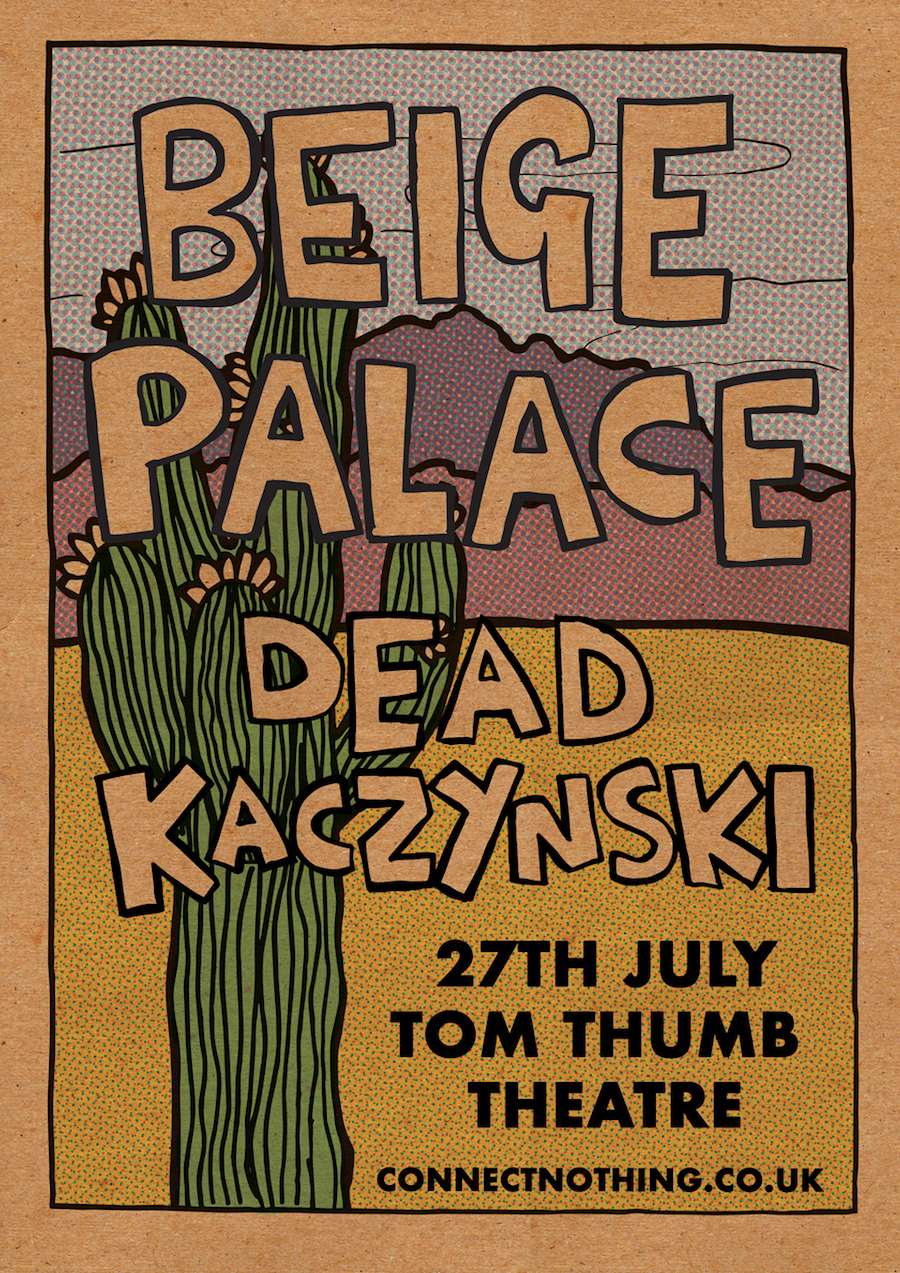Beige Palace gig poster