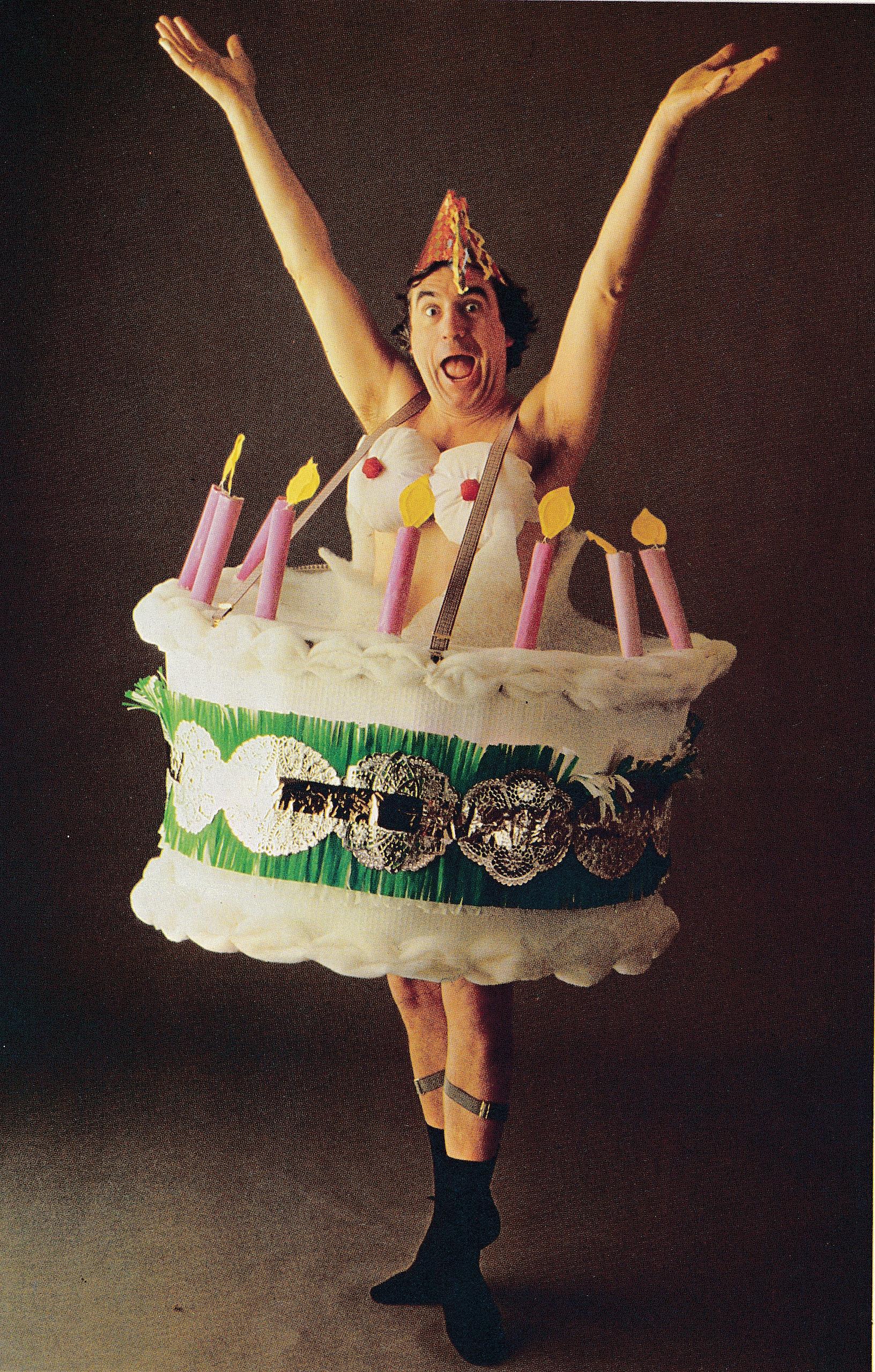 birthday cake costume